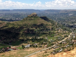 Maseru on Christmas Day